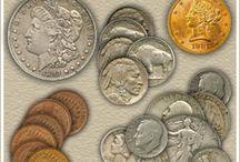Coins & bancnotes