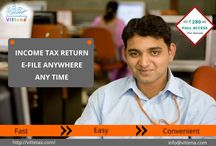 Pay Tax Online in India With Vittetax / File your income tax online in India with http://www.vittena.com/vittetax/ in a safe and secured method.