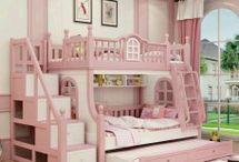 Tempat Tidur Tingkat / Jual Furniture Anak Tempat Tidur Tingkat Mewah Desain Terbaru Bahan Kayu Mahoni & Jati