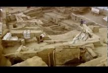 Archaeological sites / People in pre-history and at the edge of history leaving their marks