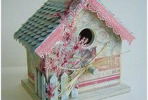Birdhouses & Birds