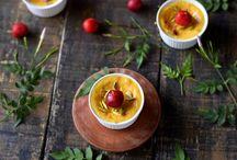 Aam doi (mango flavour baked yoghurt)