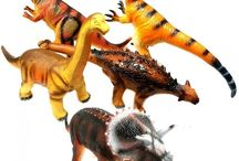 Dinosaur Toys / Dinosaur soft toys, plastic toys, puzzles, pencils, masks and more