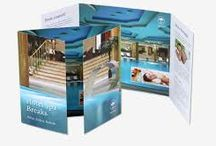 Leaflets, flyers and brochures