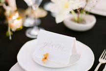 napkin and name card details