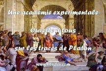 Images de vidéos - Une académie expérimentale sur les traces de Platon - Elvere DELSART / EL4DEV - Comment changer le monde par une éducation nouvelle