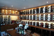 Commercial Wine Racks & Displays – Nikita Restaurant Malibu California / This is an interesting commercial wine cellar project. We designed and built a commercial wine storage and display area for the Nikita Restaurant, a popular dining place in Malibu, California.