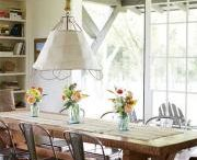 DINING / lovely tables and breakfast nooks to dine at