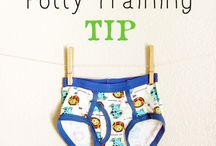 Potty Training / Because with five in diapers, I can use all the help I can get...