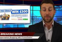 Breaking News, Win and Spend £500 in UK's biggest Supermarkets