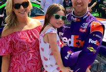 Denny Hamlin Nascar Driver / The board related to the famous NASCAR driver, Denny Hamlin. Anything new in his life, you can find it here.