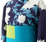 YUKATA+KIMONO / YUKATA is japanese summer casual-kimono.