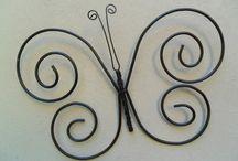 decorar con alambre
