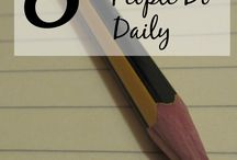 Study habits / by Aly Johnson