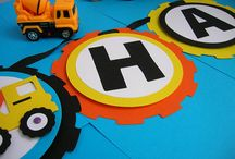 Construction Birthday party  / My son is turning 4, and construction themed it will be...