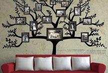 деревья и рамки