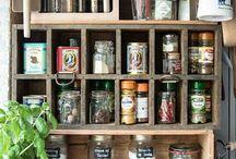 Kitchen storage inspo