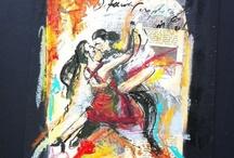 Danseurs by Muriel Meynlé / La danse surtout latine