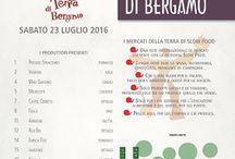 Piccoli Frutti a tutta Birra, laboratori e degustazioni al Mercato della Terra di Bergamo 23 Luglio Bergamo