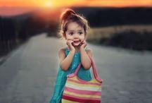 Happy children in a dangerous world