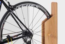 Fahrradständer im Haus