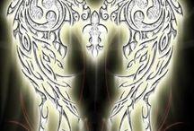 Engel und Flügel
