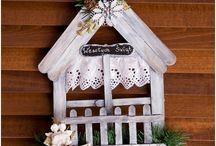 drevené dekorácie