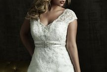 { Plus Size Bridal Gowns } / Our samples in store of Plus Size Bridal Gowns for sizes 18 and up. Everyone deserves to feel beautiful, no matter what size, on her wedding day.