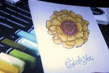 Blended Bloom Card Ideas / by Laurie Graham: Avon Rep/Stampin' Up! Demo