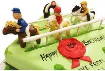 Sporting Birthday Cakes