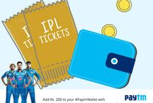 IPL 8 Edition / Paytm is the official sponsor of IPL 8 and associate sponsor of The Mumbai Indians Teams. Stay tuned to this board for exciting updates.