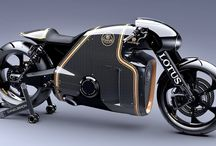 Lotus has built an amazing motorbike / Good news for the leather romper suit community: Lotus has just released a fresh batch of images of the C-01, the company's first ever motorbike. And doesn't it look astonishing?  And before you file this under 'Pipedream Render That'll Never Ever Happen', hold on. Because the C-01 is real. And will be built. website: http://www.lotus-motorcycles.com/media-coverage/