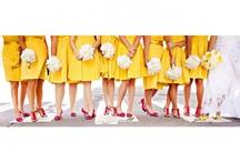 Yellow wedding / Sunshine yellow wedding inspiration