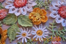 Crochet flowers / by Annemie Valckx