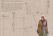Costume patterns / Frameworks, diagrams and patterns about costume design and construction.