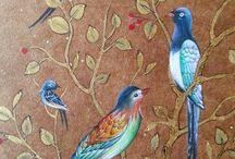 oiseaux perches