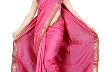 Indian Designer Sarees / Wonderful collections of various Indian sarees such as bridal sarees, wedding sarees, party wear sarees, casual wear sarees and More at MiaIndia.