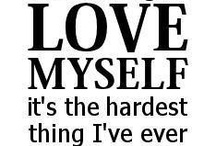Loving myself / by Heidi Malysa