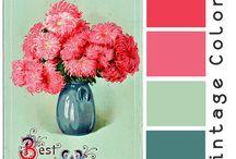 Colors-colors-colors / All kinds of color palettes