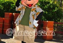Mickey Mouse -green-