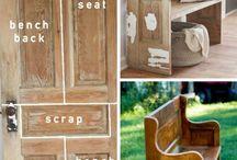 ideas reciclar puertas y ventanas