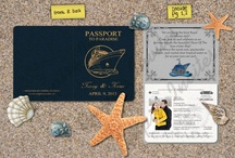 """Destination Wedding Inspiration / A destination wedding is like a mini-vacation - FUN!  AND, there are so many creative ways to incorporate the theme of """"travel"""" into your big day, such as designing wedding invitations that look like an airline ticket! / by Madeline's Weddings & Events"""