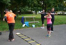 Outdoor-Circuit 1. Training / Impressionen vom ersten Outdoor-Circuit in Saarwellingen 09. September 2014