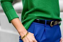 azul cobalto pantalon