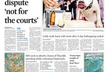 Front pages - October 2014