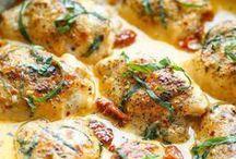 10 recettes de poulet