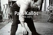 EXPOSITION PAUL KALLOS (1928-2001) GALERIE INTUITI PARIS & BRUXELLES