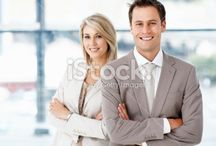 Couple Posing - Business