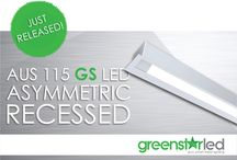 NEW AUS 115 Greenstar LED Asymmetric Recessed / The latest release from Austube introduces a luminaire that has the ability to wash a wall and cast light in surrounding areas with an asymmetric distribution. Our new AUS 115 Greenstar LED Asymmetric Recessed has been created using the technical advantages of two of Austube's recently successful luminaires.