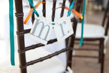 Mr. + Mrs.  / Examples of Mr. & Mrs. and name signs in weddings. They seem to be all the rage!